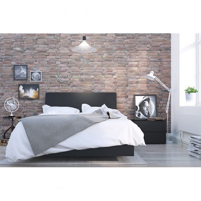 Corbo Full Size Bedroom Set 3pcs (Black) 400810