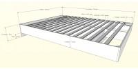 Queen Size Bed 2pcs (Ebony) 400760