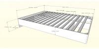 Paris Full Size Bed 3pcs (White) 400784