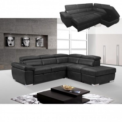 Amando II Sectional with Pull-out Sofa Bed