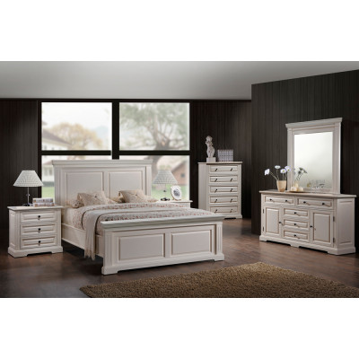 Brianna King 6pcs. Bedroom Set