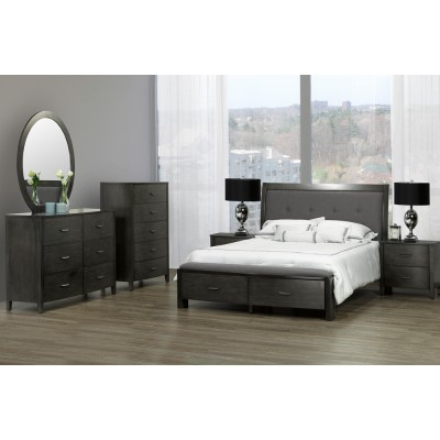 Cameron King 6pcs. Bedroom Set