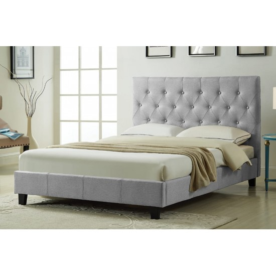 Twin Bed T2366 (Grey)