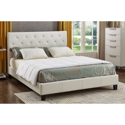 Twin Bed T2366 (White)