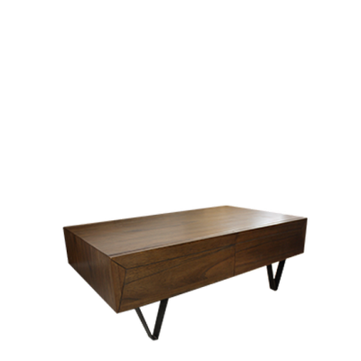 Croft Coffee Table (Dark Brown)